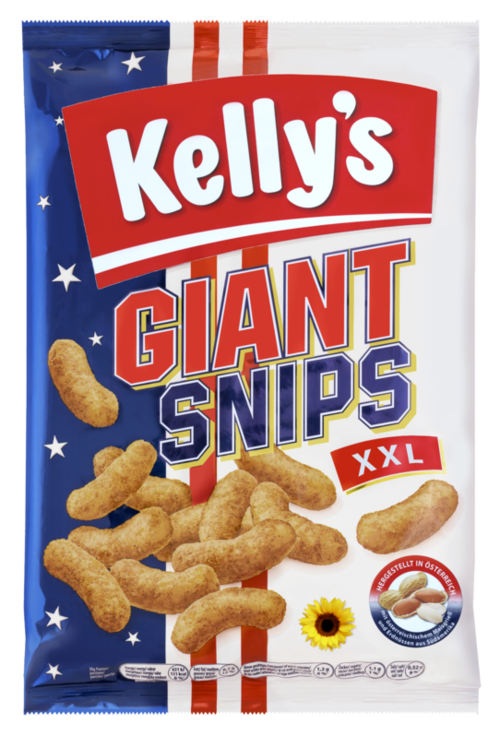 Verpackung von Kelly's GIANT SNIPS