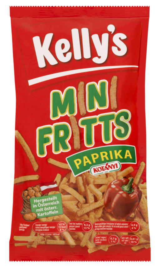 Verpackung von Kelly's MINI FRITTS PAPRIKA